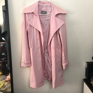Jackets & Blazers - Funky Pink Trenchcoat